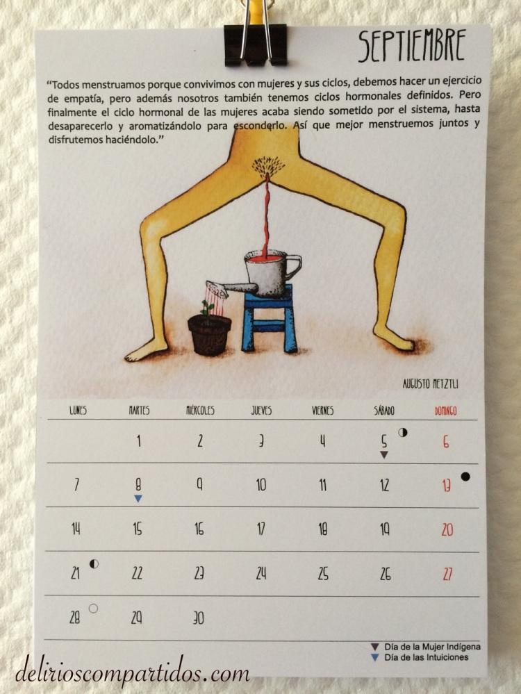 Septiembre en La Calendaria 2015